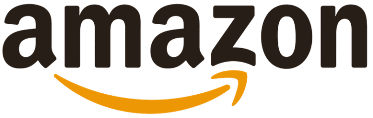 Image of the Amazon logo. Many companies hire Amazon product description copywriters for their products.