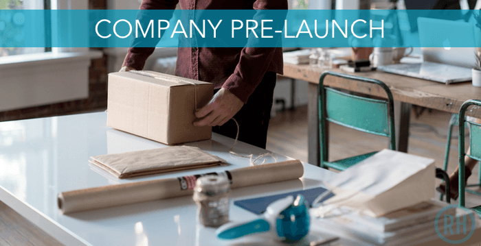 Creating your own company pre-launch can help you get a great start to your business.